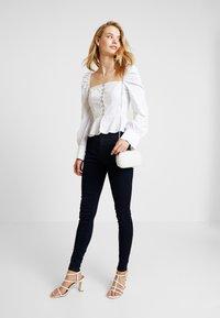 Dorothy Perkins Tall - FRANKIE - Jeans Skinny Fit - blue/black - 1