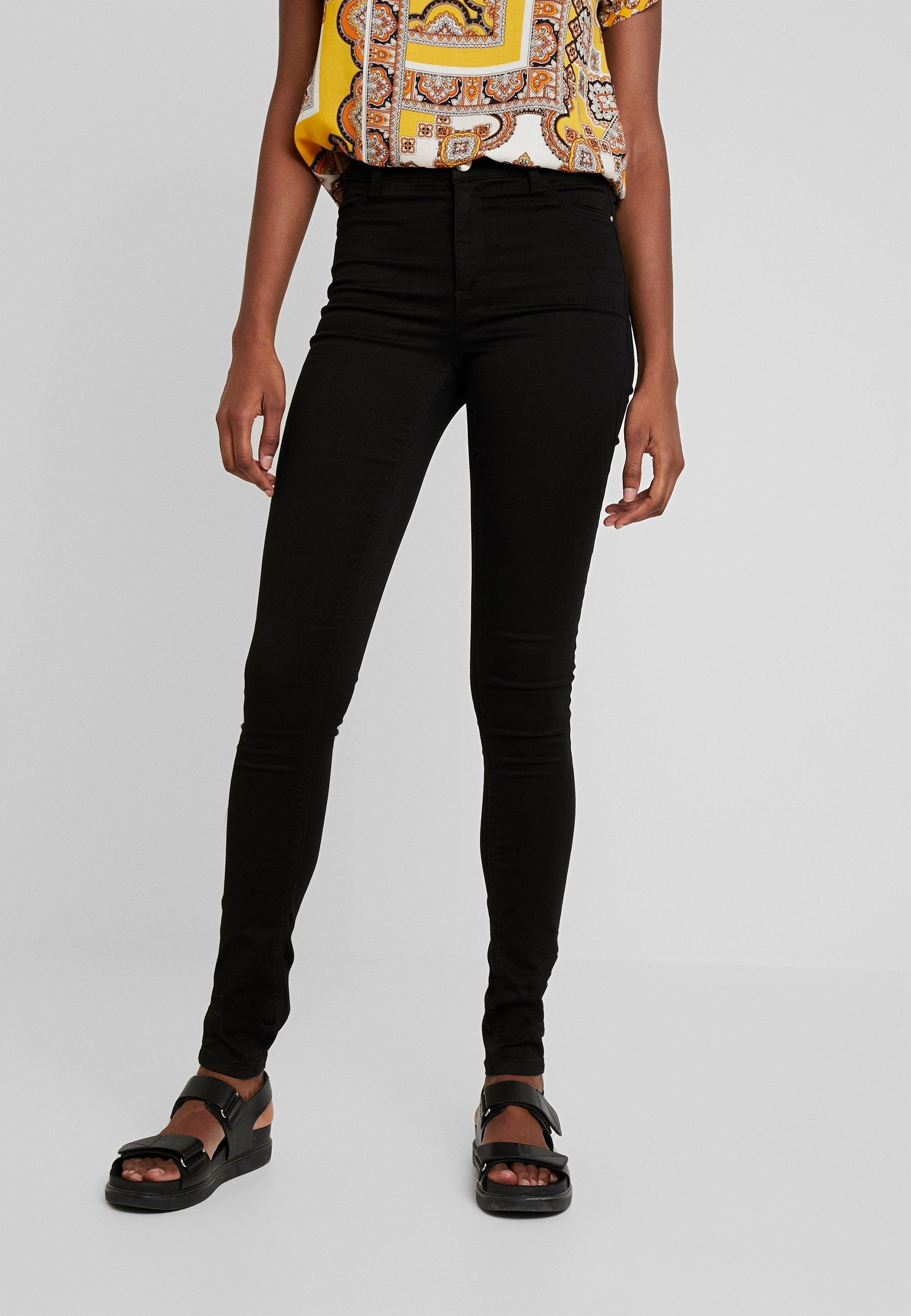 Dorothy Perkins Tall FRANKIE - Jeansy Skinny Fit - black