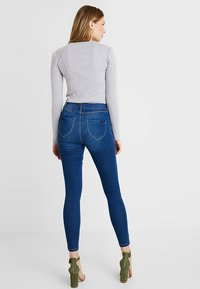 Dorothy Perkins Tall - MIDWASH EDEN - Jeansy Skinny Fit - midwash - 2