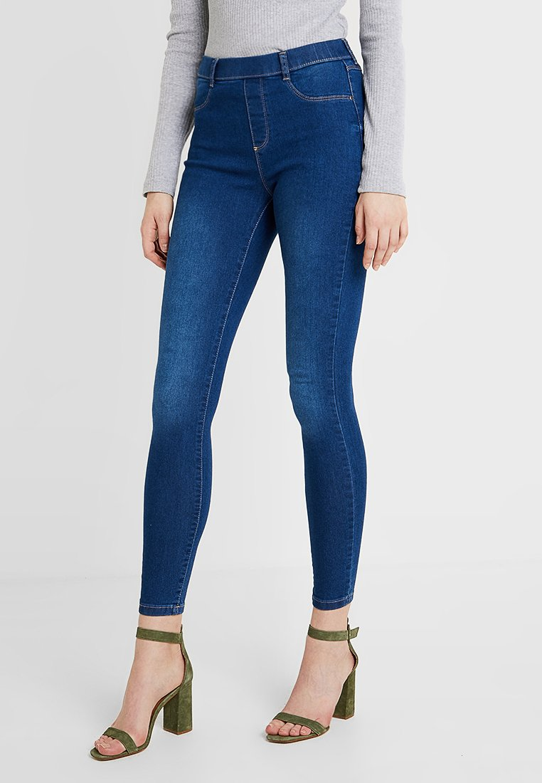 Dorothy Perkins Tall - MIDWASH EDEN - Jeansy Skinny Fit - midwash