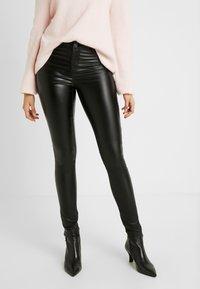 Dorothy Perkins Tall - FRANKIE - Trousers - black - 0
