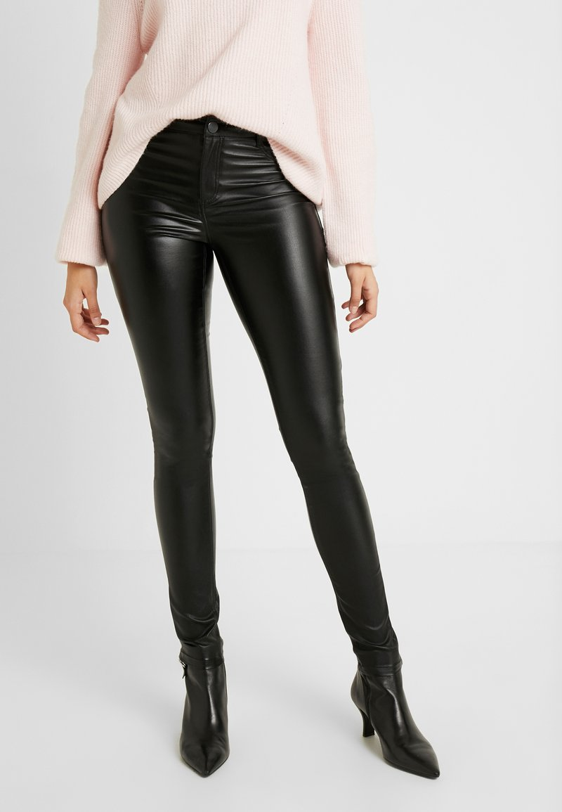 Dorothy Perkins Tall - FRANKIE - Trousers - black