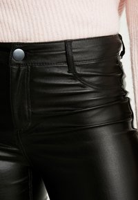Dorothy Perkins Tall - FRANKIE - Trousers - black - 4