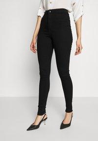 Dorothy Perkins Tall - LYLA JEAN - Jeans Skinny - black - 0