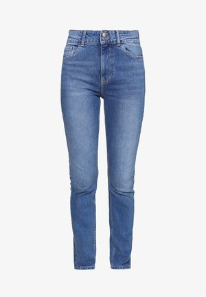 Jeansy Skinny Fit - mid wash denim