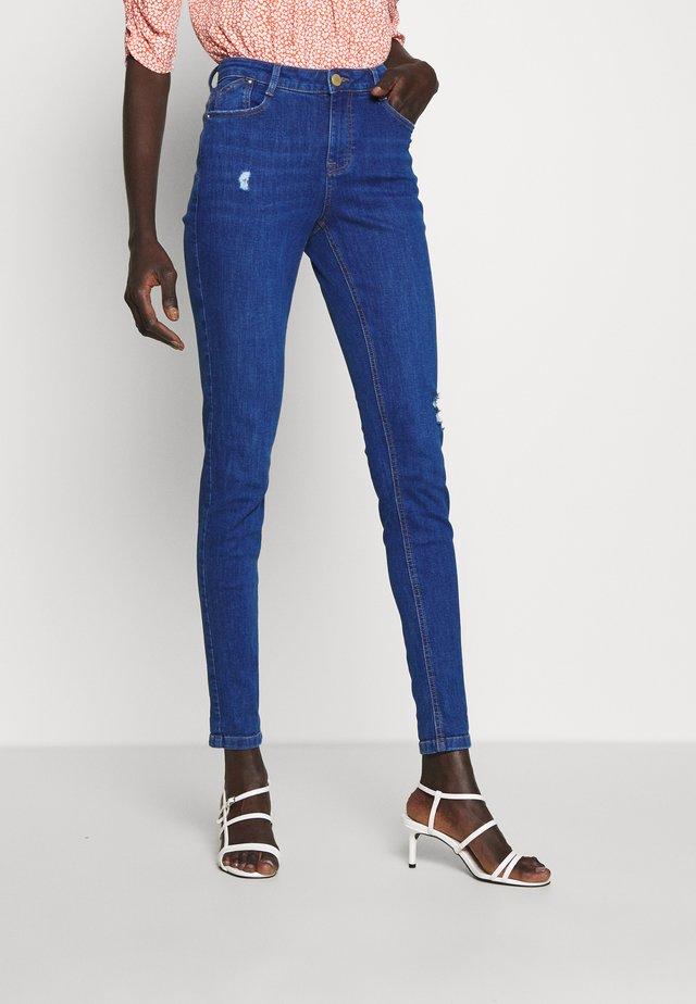 HARPER - Skinny džíny - ocean blue