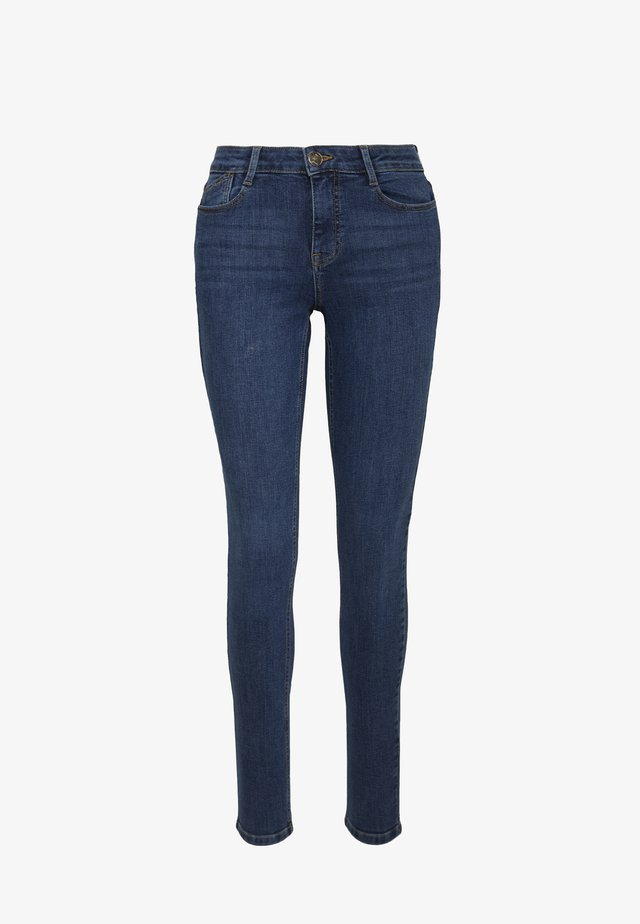 HARPER - Jeansy Skinny Fit - mid wash denim