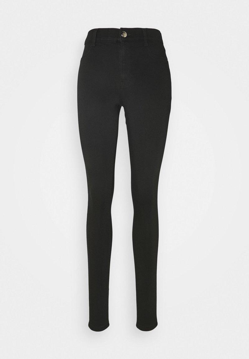 Dorothy Perkins Tall - TALL FRANKIE - Jeans Skinny Fit - black