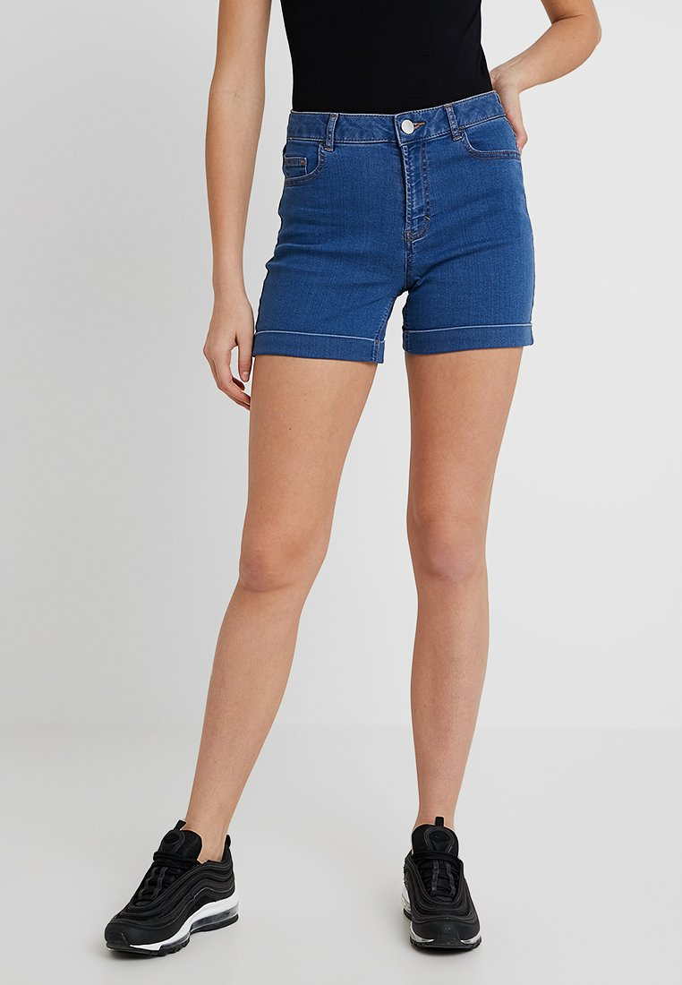 Dorothy Perkins Tall - ENTRY  - Denim shorts - midwash