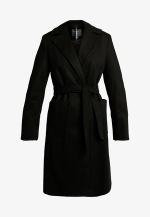 PATCH WRAP - Manteau classique - black