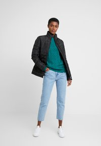 Dorothy Perkins Tall - SUSTAINABLE LIGHTWEIGHT JACKET - Light jacket - black - 1