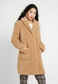 Dorothy Perkins Tall - LONG COAT - Cappotto invernale - camel - 0