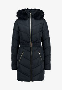 Dorothy Perkins Tall - LONG LUXE PADDED JACKET - Mantel - navy blue - 4