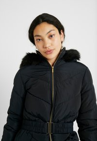 Dorothy Perkins Tall - LONG LUXE PADDED JACKET - Mantel - navy blue - 3
