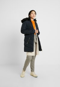 Dorothy Perkins Tall - LONG LUXE PADDED JACKET - Mantel - navy blue - 1