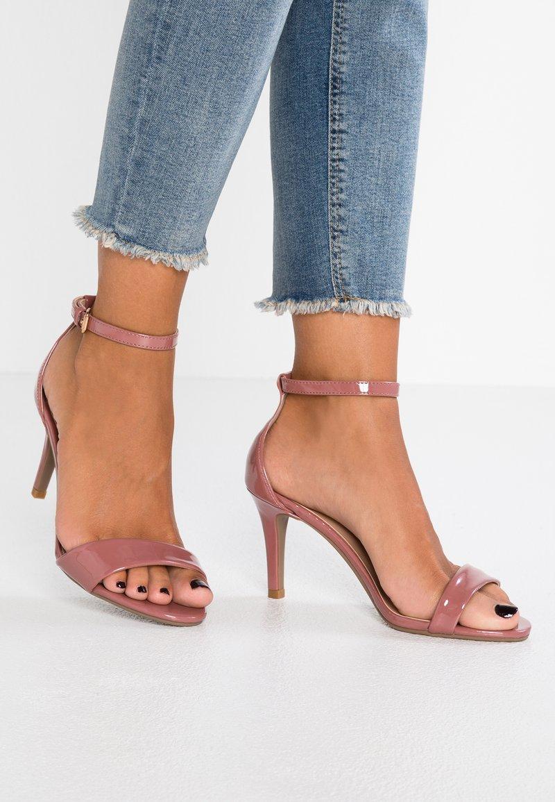 Dorothy Perkins Wide Fit - WIDE FIT STELLA - Højhælede sandaletter / Højhælede sandaler - rose