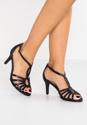 WIDE FIT BETHANIE - Sandales - navy