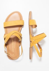 Dorothy Perkins Wide Fit - WIDE FIT FABIA - Sandály - yellow - 3
