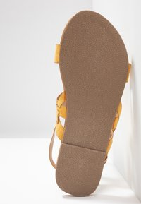 Dorothy Perkins Wide Fit - WIDE FIT FABIA - Sandály - yellow - 6