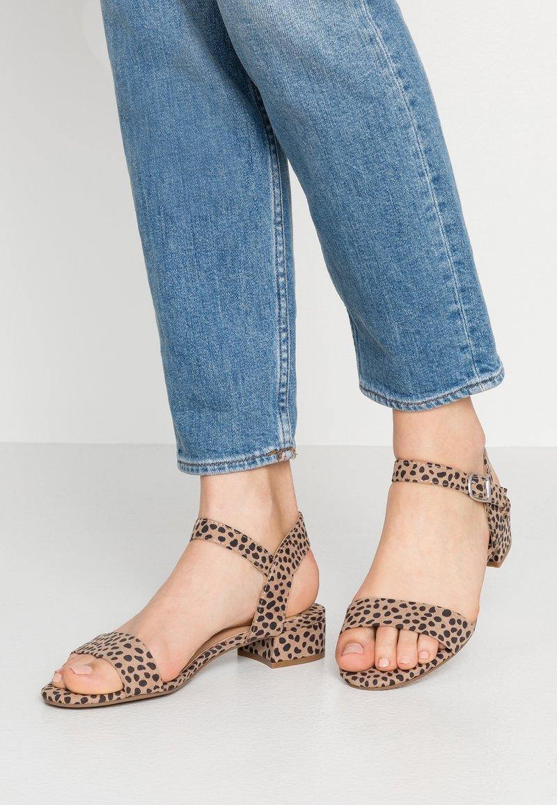 Dorothy Perkins Wide Fit - WIDE FIT SPRITE - Sandals - multicolor