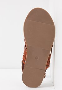 Dorothy Perkins Wide Fit - WIDE FIT FISHER - Sandalias - rust - 6