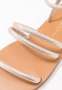 Dorothy Perkins Wide Fit - WIDE FIT TUBULAR  - Sandály - gold metallic - 2