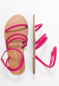 Dorothy Perkins Wide Fit - WIDE FIT TUBULAR  - Sandaalit nilkkaremmillä - pink - 3