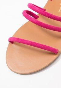 Dorothy Perkins Wide Fit - WIDE FIT TUBULAR  - Sandaalit nilkkaremmillä - pink - 2