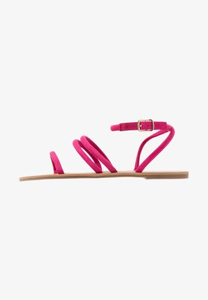 WIDE FIT TUBULAR  - Sandalen - pink