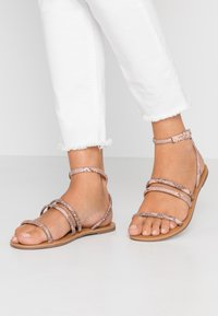 Dorothy Perkins Wide Fit - WIDE FIT TUBULAR  - Sandály - pink - 0