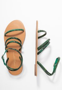 Dorothy Perkins Wide Fit - WIDE FIT TUBULAR  - Sandaler - green - 3