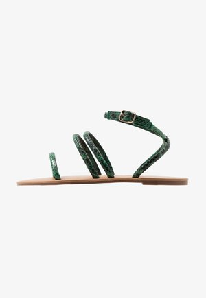 WIDE FIT TUBULAR  - Sandaler - green