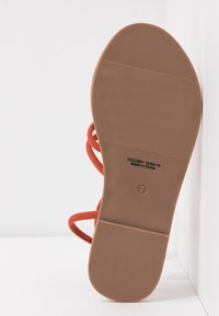 Dorothy Perkins Wide Fit - WIDE FIT TUBULAR  - Sandály - rust - 6