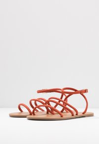 Dorothy Perkins Wide Fit - WIDE FIT TUBULAR  - Sandály - rust - 4