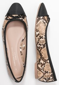 Dorothy Perkins Wide Fit - WIDE FIT PERGOLA - Ballerines - snake - 3