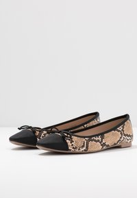 Dorothy Perkins Wide Fit - WIDE FIT PERGOLA - Ballerines - snake - 4