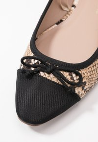 Dorothy Perkins Wide Fit - WIDE FIT PERGOLA - Ballerines - snake - 2