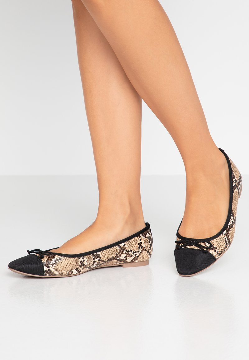 Dorothy Perkins Wide Fit - WIDE FIT PERGOLA - Ballerines - snake