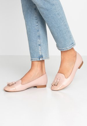 WIDE FIT PALMA TOE CAP - Instappers - blush