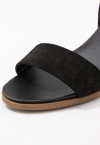 Dorothy Perkins Wide Fit - WIDE FIT COMFORT FOOTBED STACK HEEL - Sandaler - black - 2