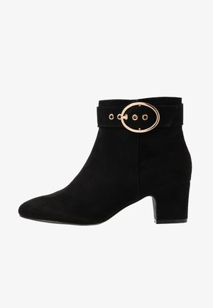 WIDE FIT ARGO - Classic ankle boots - black
