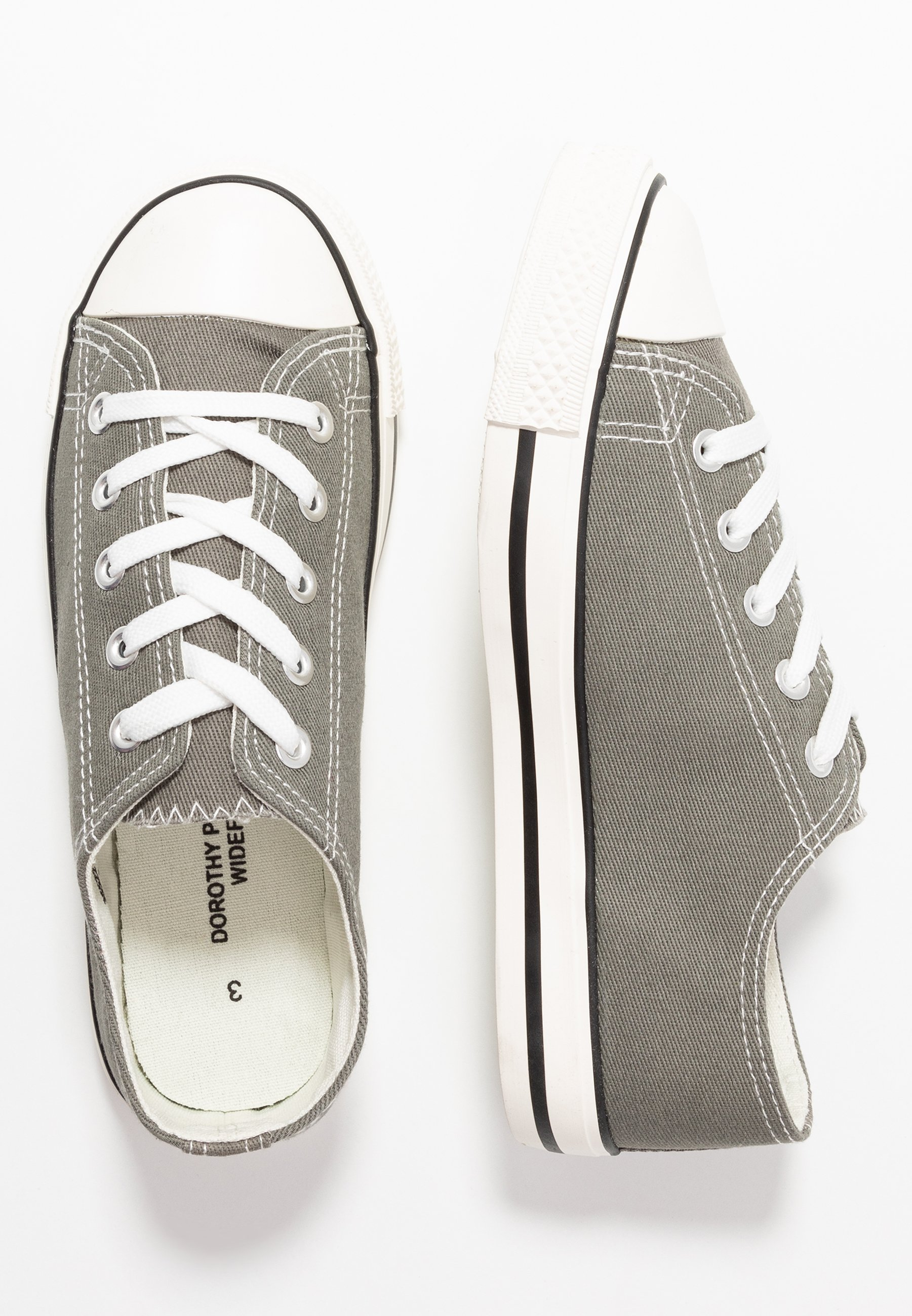 Dorothy Perkins Wide Fit Icon - Trainers Grey