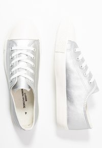 Dorothy Perkins Wide Fit - WIDE FIT ICON  - Trainers - silver - 3