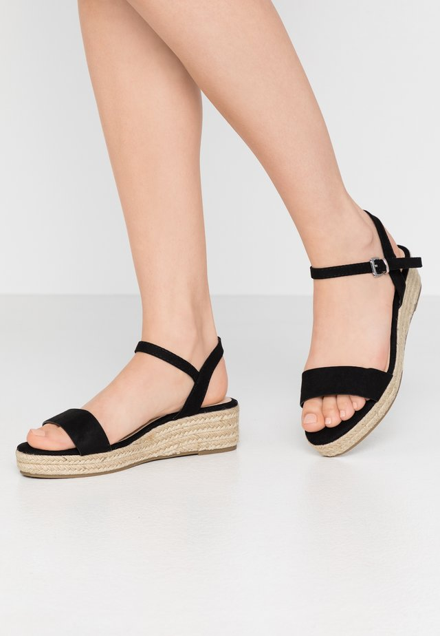 WIDE FIT RHIANNA 2 PART - Loafers - black