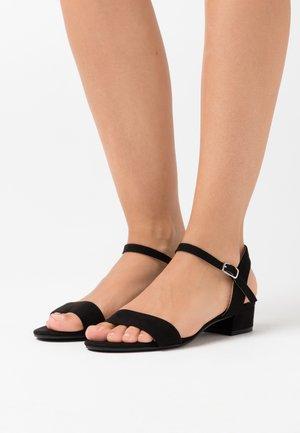 WIDE FIT SPRIGHTLY  - Sandaler - black