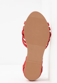 Dorothy Perkins Wide Fit - WIDE FIT JINX - Sandaler - red - 6