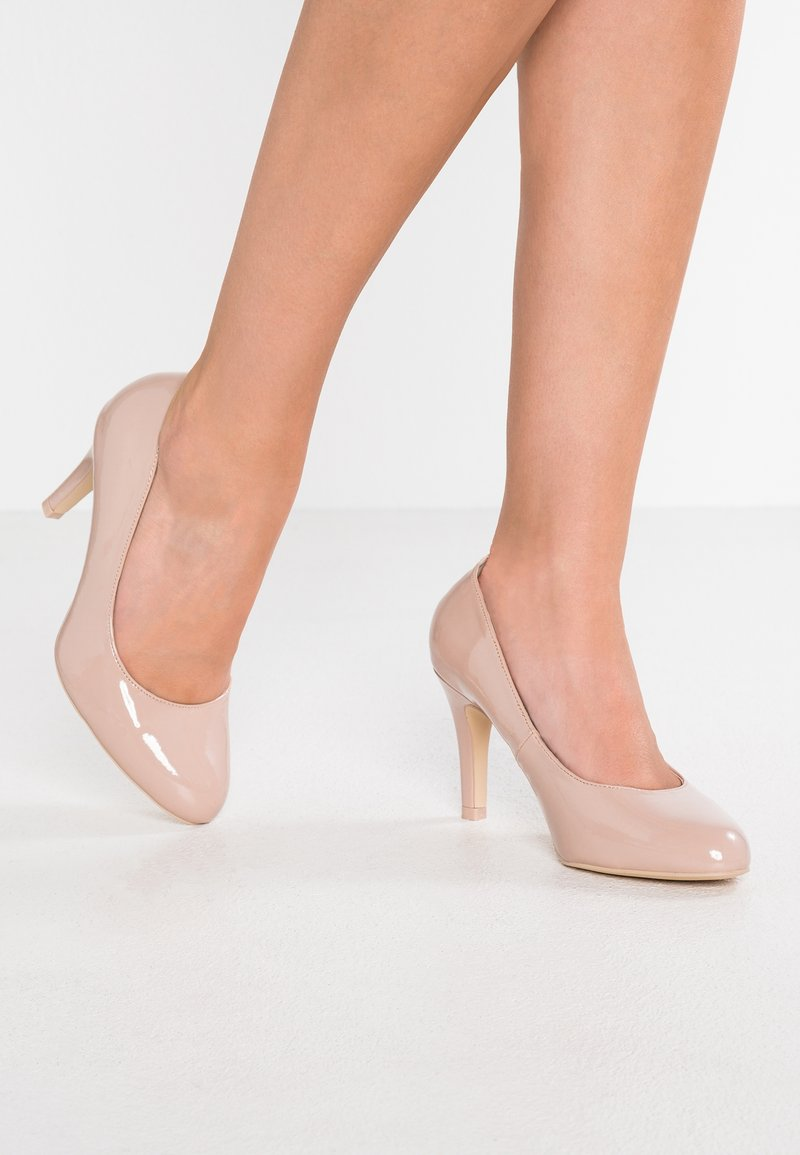 Dorothy Perkins Wide Fit - WIDE FIT DALLAS - High heels - nude