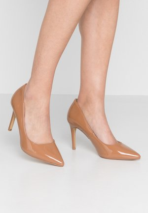 WIDE FIT DANIELLE - High heels - tan