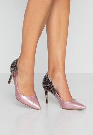WIDE FIT EDEN - Tacones - pink