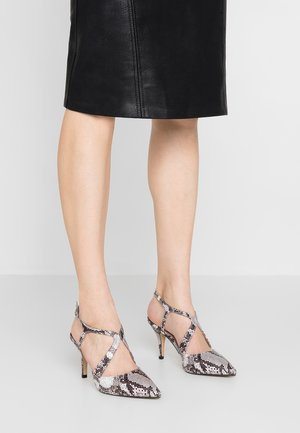 WIDE FIT ENIGMA - High heels - multicolor